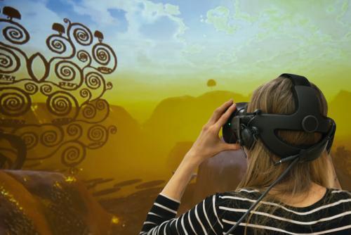 Virtuelle Spaziergänge durch Klimts magische Gärten  / © MAK Mona Heiss
